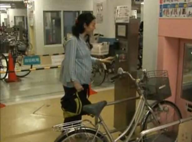 Automatické parkoviště pro jízdní kola – Japonsko