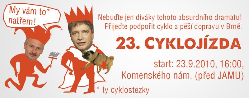 Pozvánka na 23. cyklojízdu