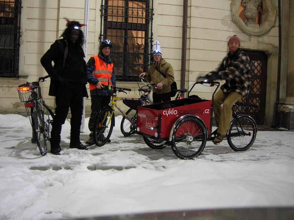 Mikulášská cyklojízda 2010