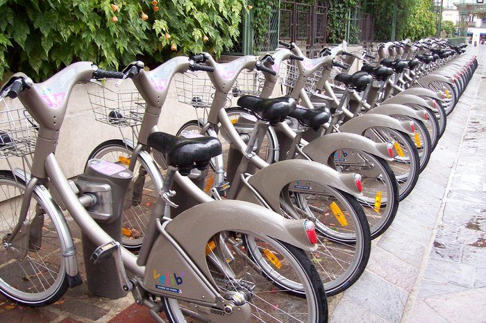 VELIB – Město je hezčí na kole