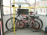 Může kolo do tramvaje?