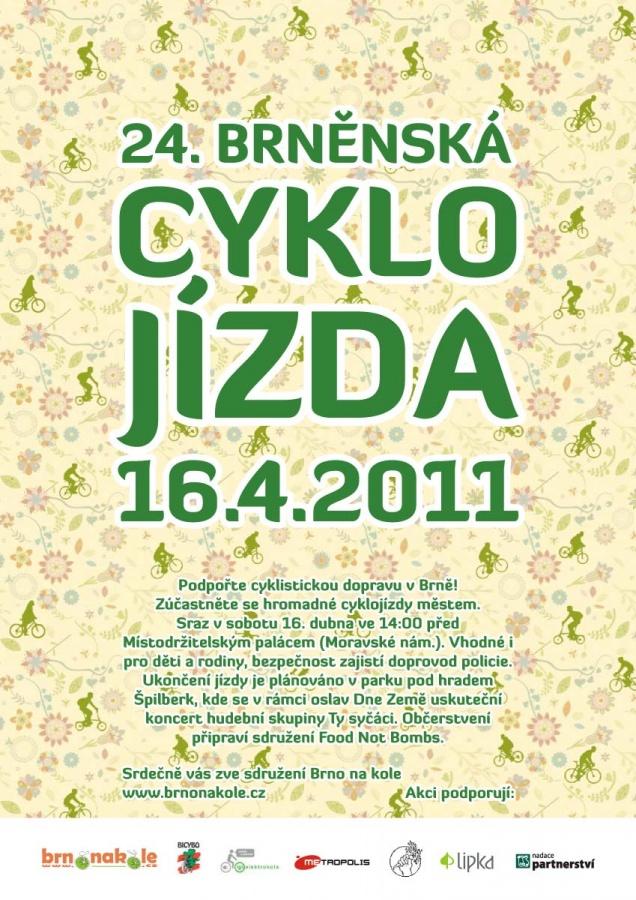 Pozvánka na 24. cyklojízdu