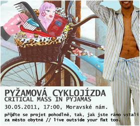 Květnové cykloakce v Brně