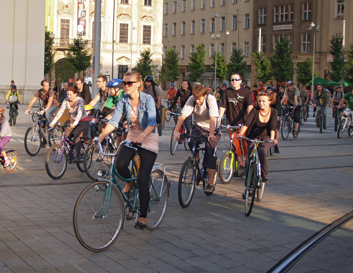 Cyklojízdy v Brně 2015