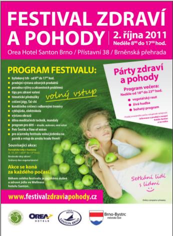 2.10. (ne) Cyklojízda Festivalu zdraví a pohody