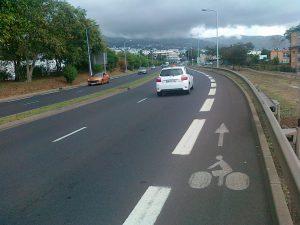 Cyklopruh po magistrále - v podstatě dálnice.