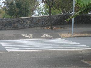 Cyklopřejezd v Saint Denis