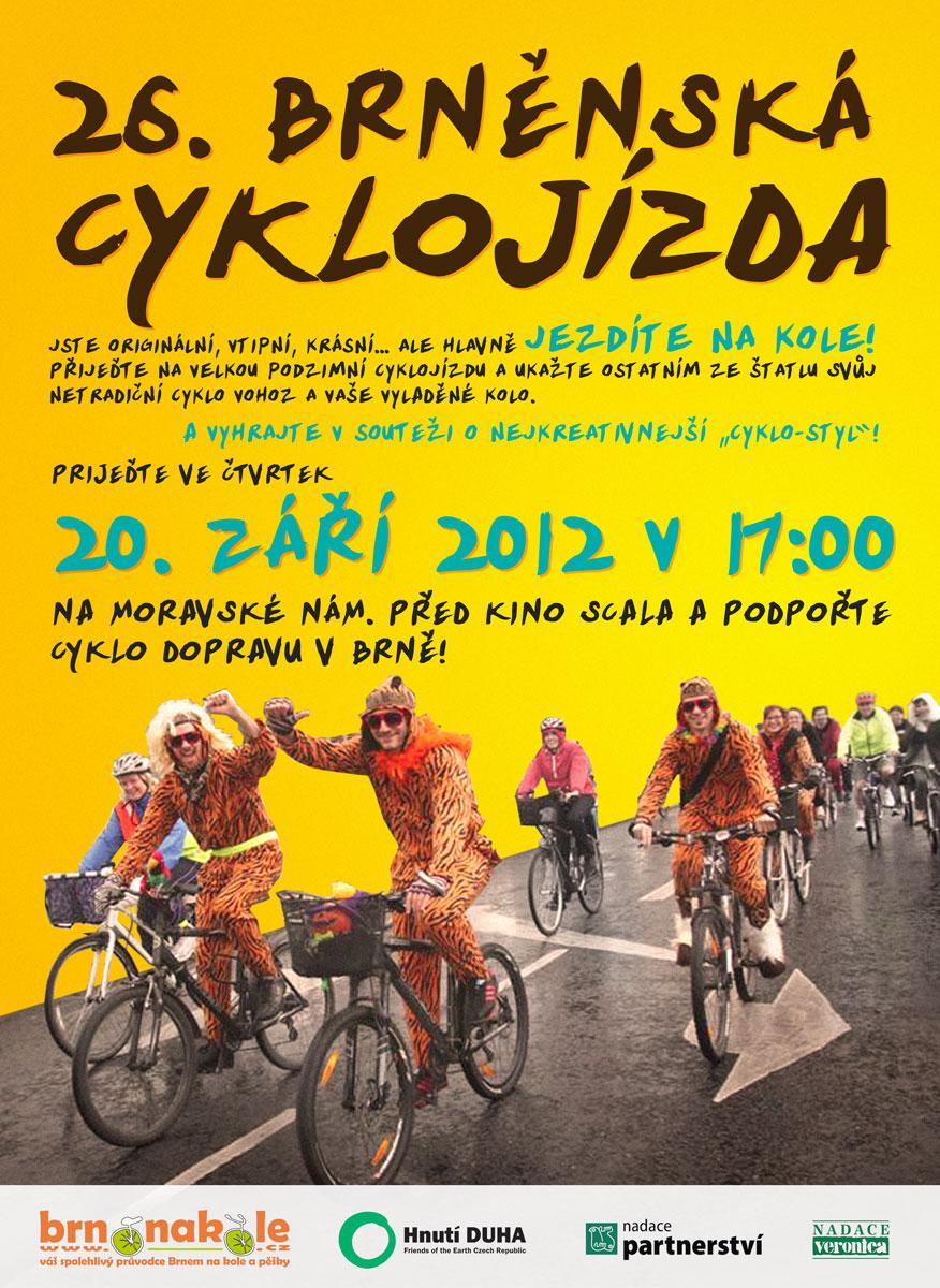 Přijeďte na velkou podzimní cyklojízdu 20. 9. 2012