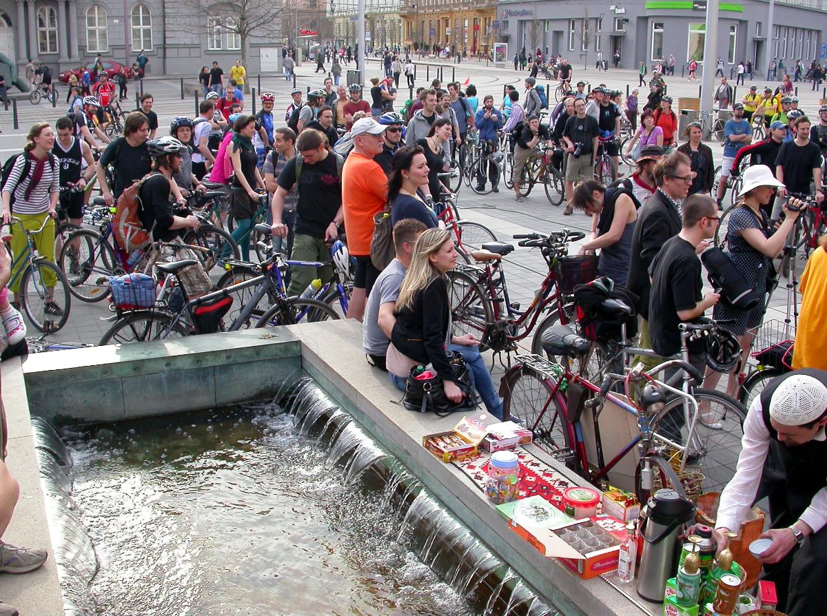 Ohlasy velké jarní cyklojízdy 18. 4. 2013