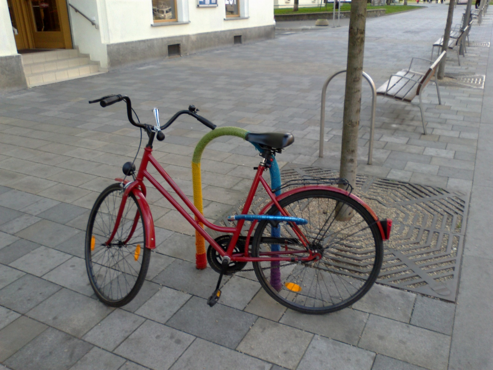 Levné bazarové kolo