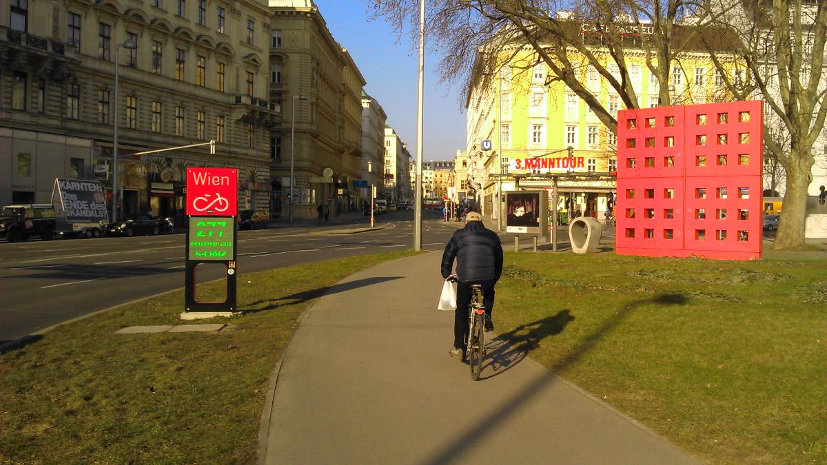 Vídeň na zimním kole