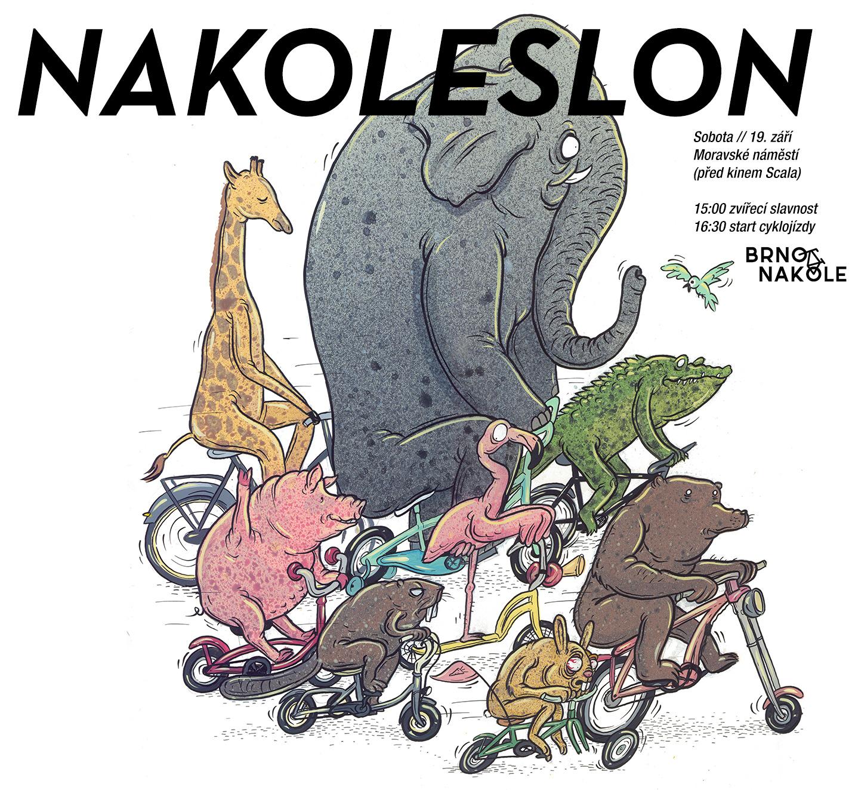 NAKOLESLON – prorazí zácpu v dopravní džungli (cyklojízda)