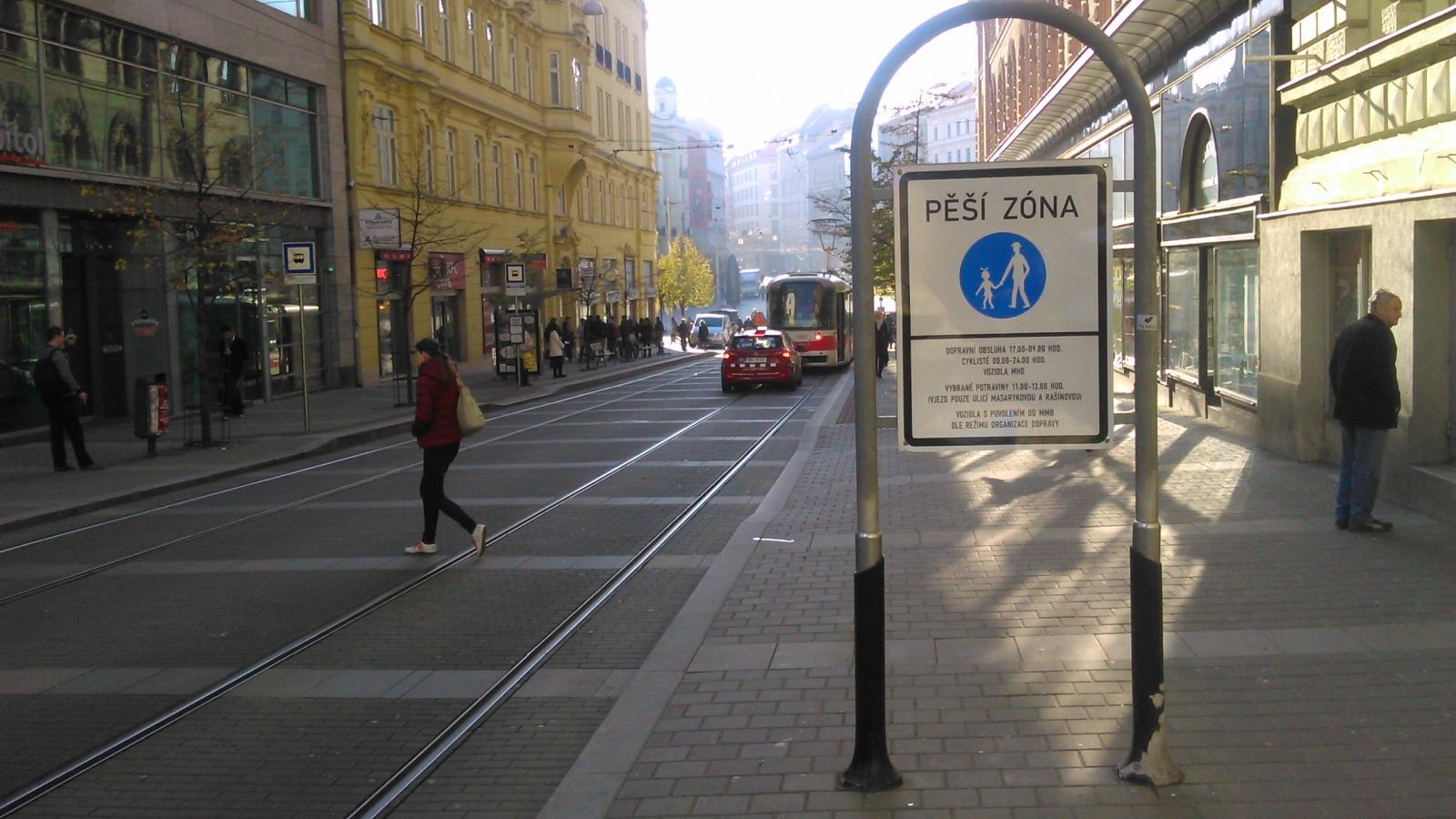 Změny ulic k prosinci 2015