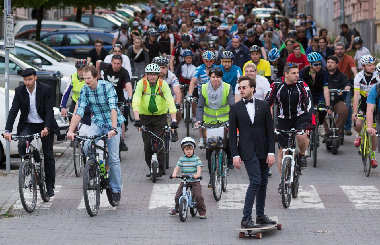 Brněnský masakr bezmotorovou dopravou! Cyklojízdy v roce 2016