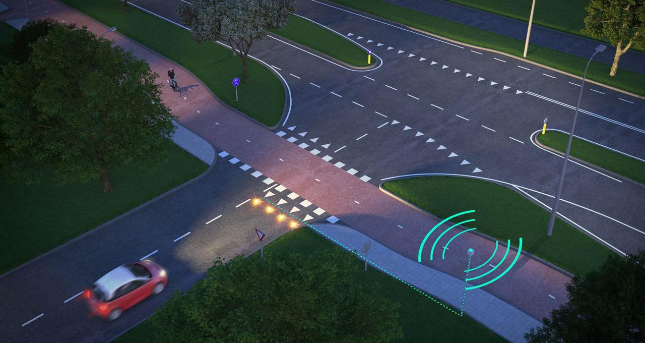 Nebezpečné křížení cyklostezky se silnicí? Nizozemí má řešení