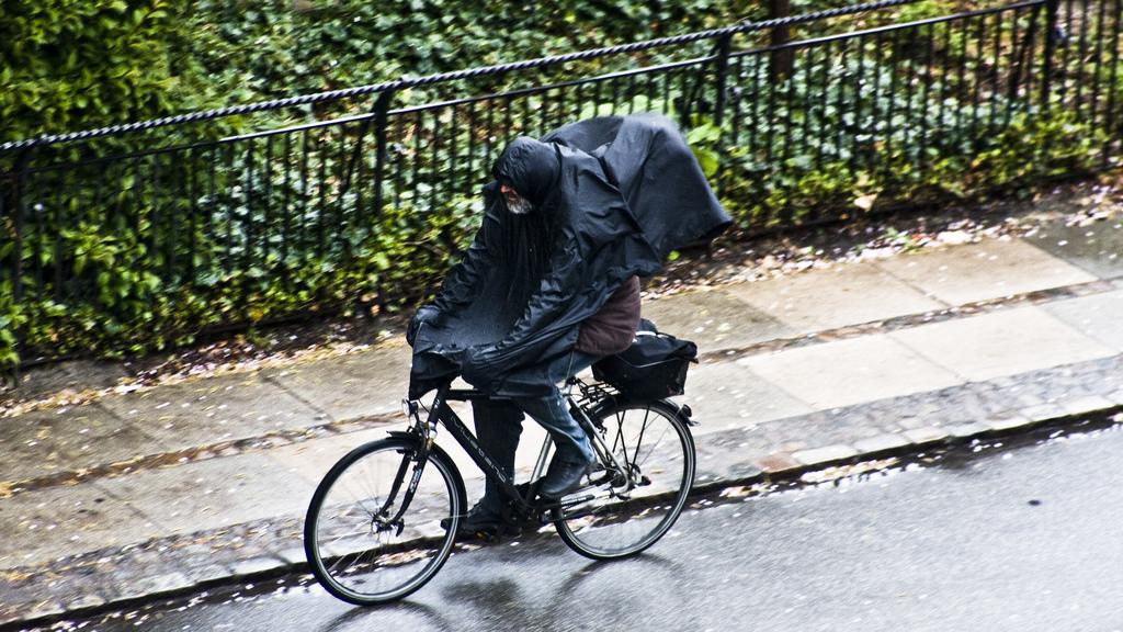 Prší v Brně? Prší, ale nezmoknu.