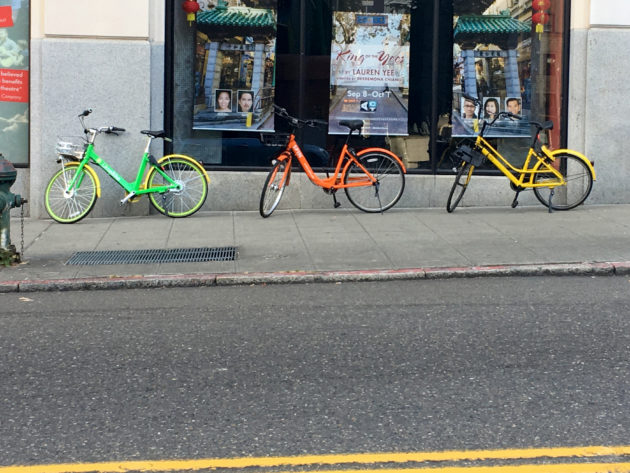 Nový přístup měst kbezstanicovému bikesharingu
