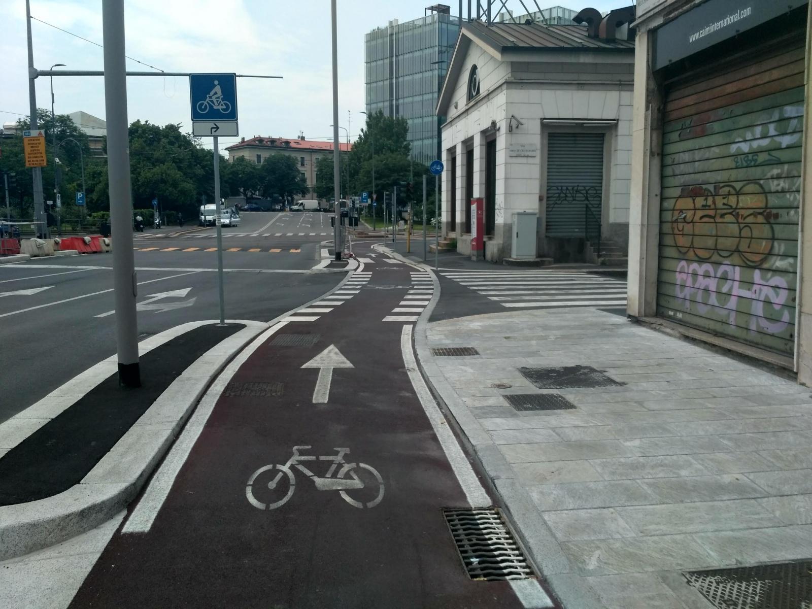 Milánem na kole