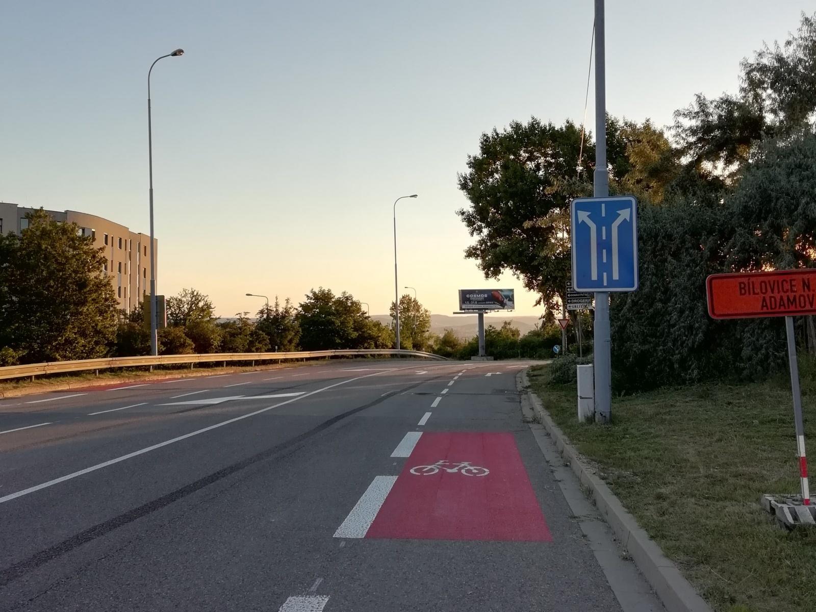 Změny ulic k červnu 2018