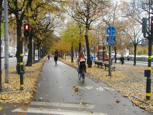 Stockholm na kole